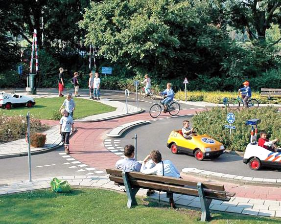 Dutch traffic garden