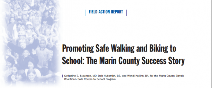 The Marin County Success Story